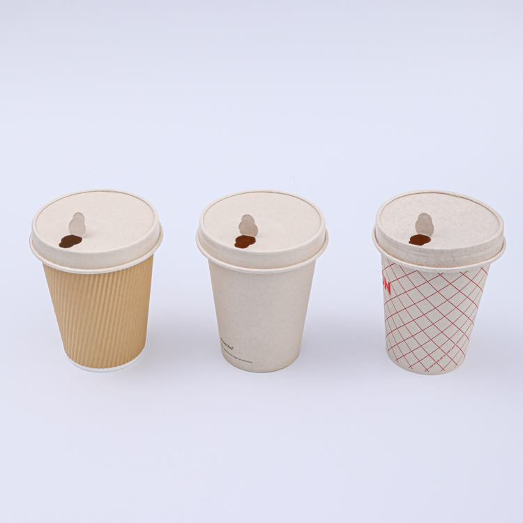 Paper cup for hot or cold beverage drink
