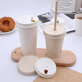Take away paper cup with lid