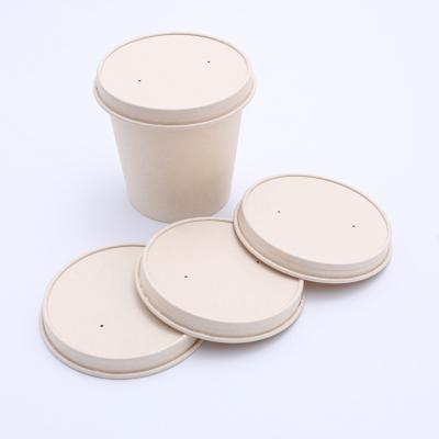 Disposable paper lids for paper cups