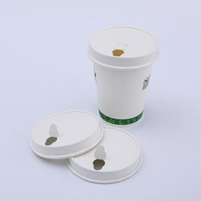 100% ecofriendly  disposable paper cup lid