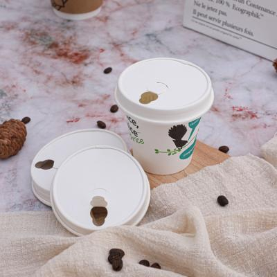 Biodegradable double wall paper coffee cup