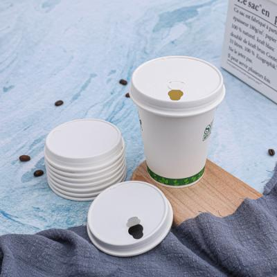 Biodegradable disposable paper cups with lids