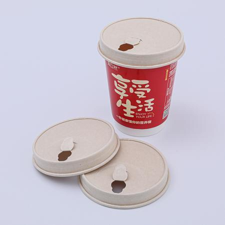 Double layer paper cup with customized design