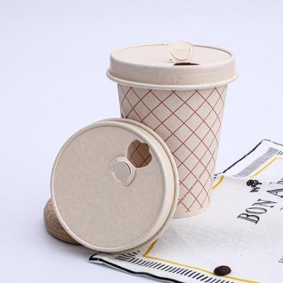 paper cups with lids for coffee beverage soup