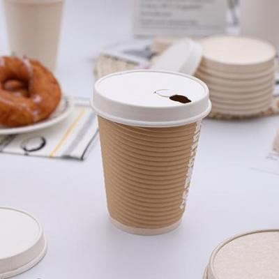 90mm Compostable bagsse paper lid