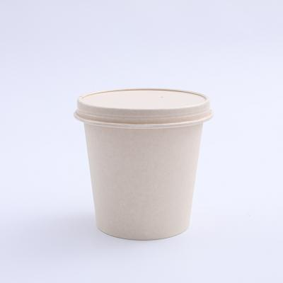 Disposable popcorn paper cup