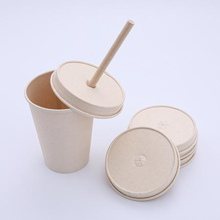 Biodegradable paper lids for cups wholesale