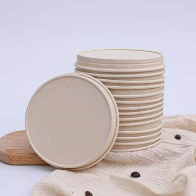 Paper lids for ice cream cups