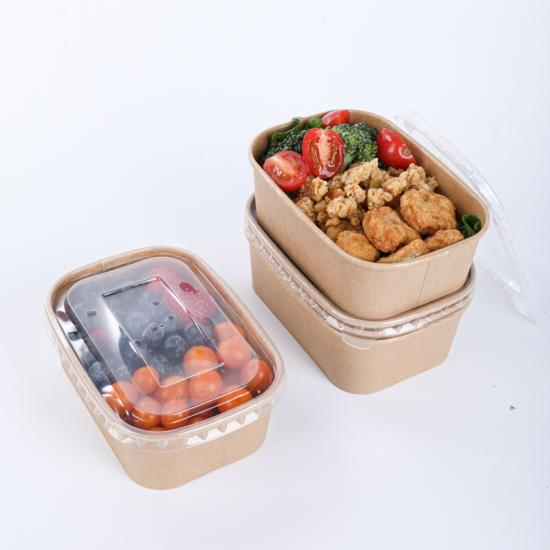 Microwave paper bowls with lids wholesale